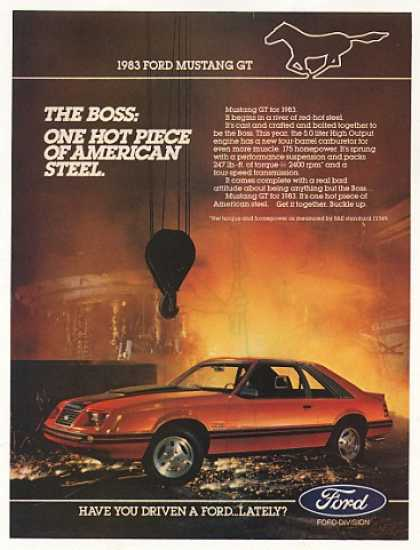 Ford Mustang GT One Hot Piece of American Steel (1983)