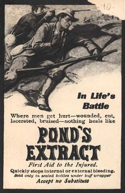 Pond's Extract Co.'s Pond's Extract – In Life's Battle (1905)