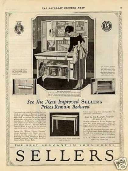 Sellers Kitchen Cabinet (1921)