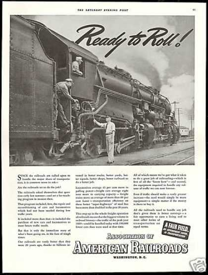 Train Photo Association of American Railroads (1939)