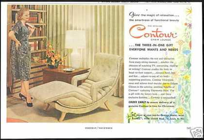 Contour Chair Lounge Furniture Vintage (1959)