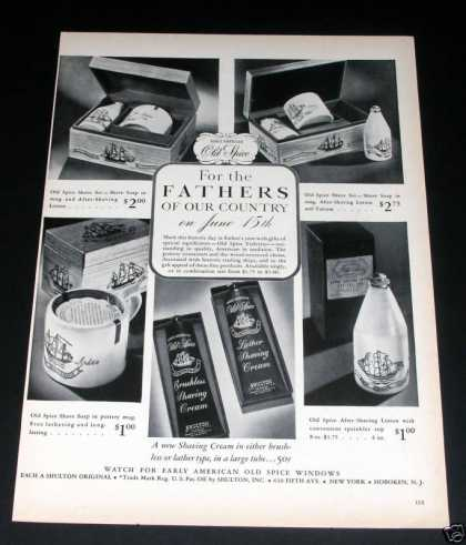 Shulton Old Spice Toiletries (1941)