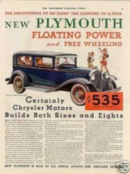 Plymouth 2-door Sedan Color (1931)