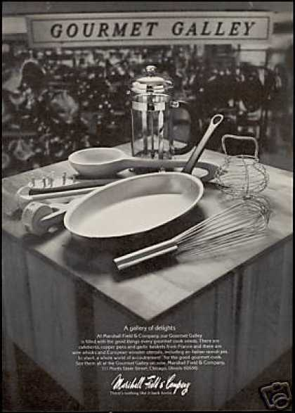 Marshall Field & Company Gourmet Galley Photo (1974)