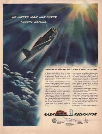 Nash Kelvinator Airplane Engines (1942)