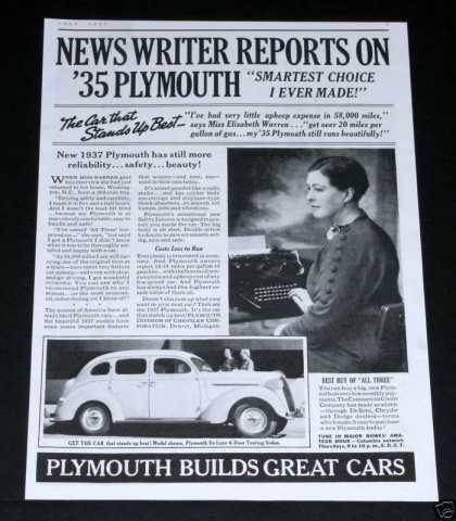 Plymouth Builds Great Cars (1937)