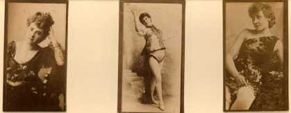 [W. Duke Sons & Co.]'s [Cigarettes] – Actresses – Large Cards – Image 4