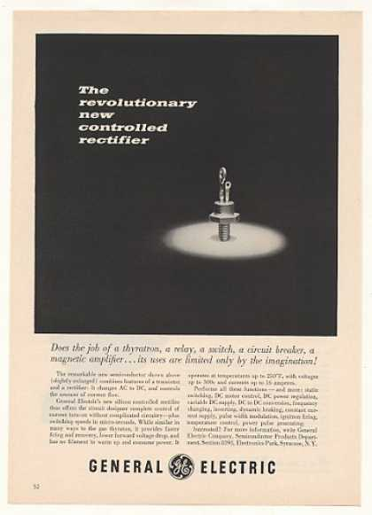 GE General Electric Controlled Rectifier (1958)