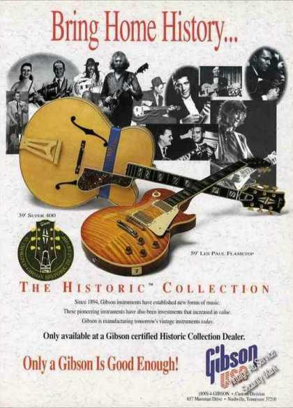 Gibson Guitars Historic Collection (1994)
