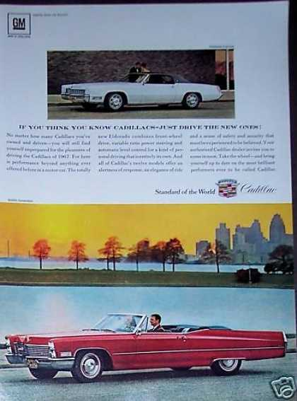 Cadillac Convertible Red Car (1967)
