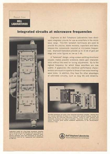 Bell Telephone Labs Microwave Amplifier (1966)