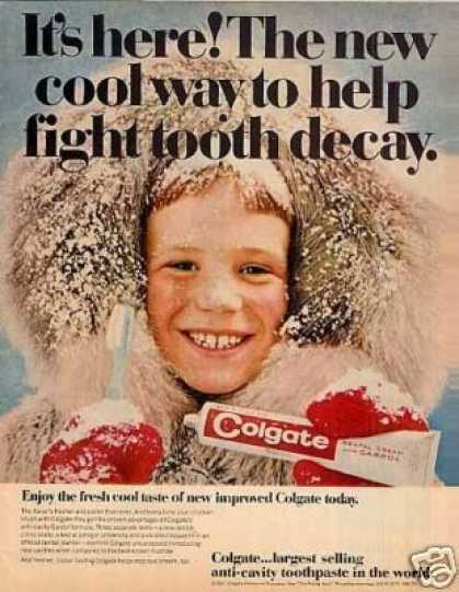 Colgate Tooth Paste (1967)