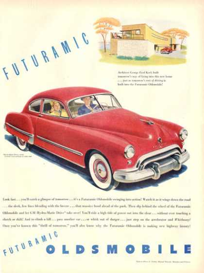 Oldsmobile Olds George Fred Keck Home (1948)
