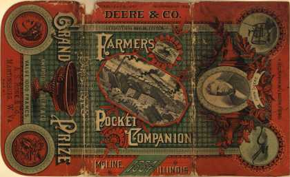 John Deere and Company's John Deere Plows and Cultivators – Farmer's Pocket Companion (1884)