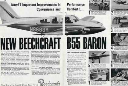 Beechcraft B55 Baron Photos (1964)