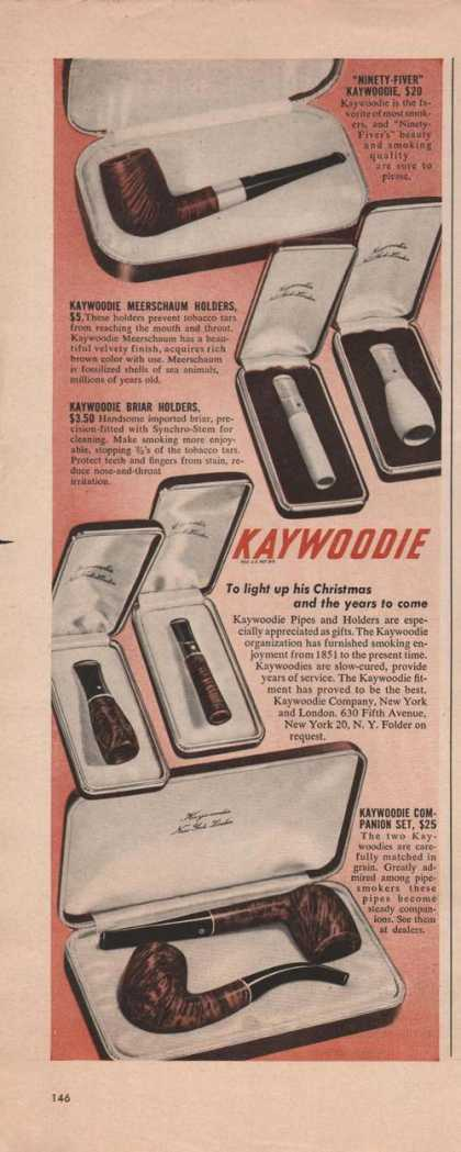 Kaywoodie Remember When Pipe (1949)