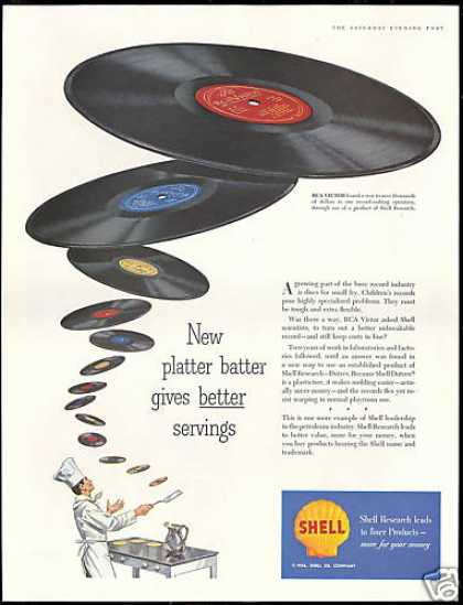 RCA Victoria Better Record Shell Oil Research (1956)