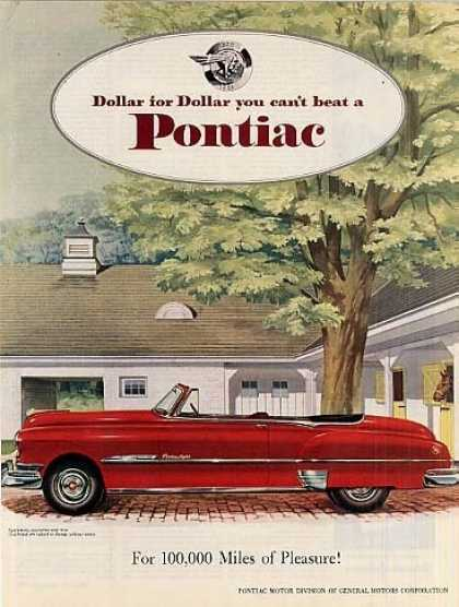 Pontiac Convertible Car (1951)