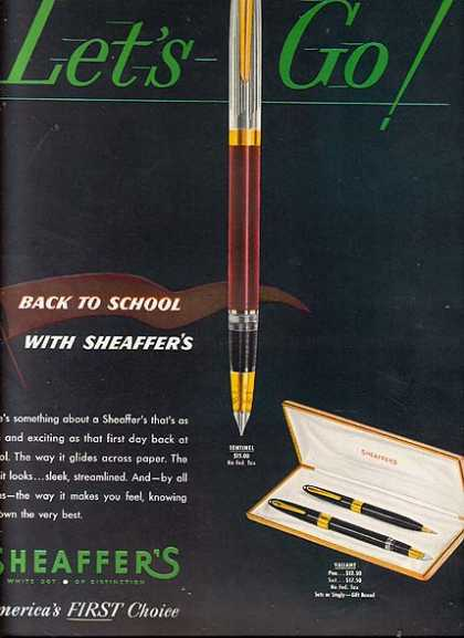 Sheaffer's Back to School (1950)