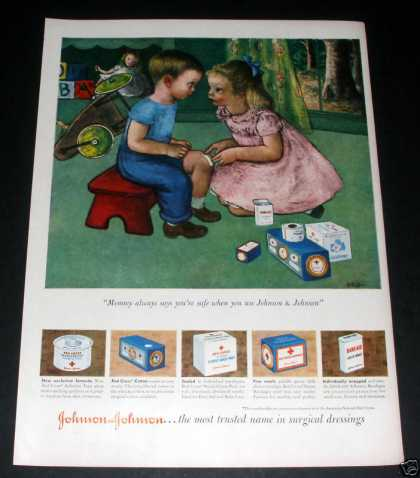 "Johnson & Johnson Dressings"" (1949)"