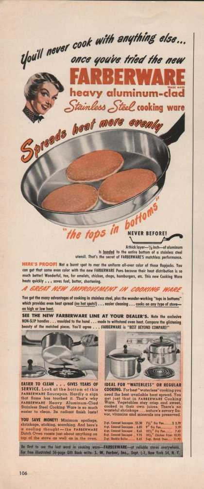 Farberware Aluminum Cooking Ware (1949)