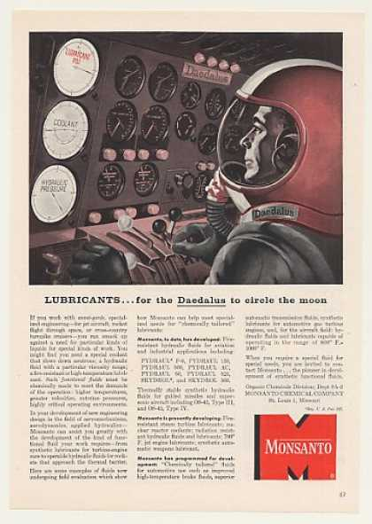 Daedalus Spaceship Monsanto Chemical Lubricants (1957)