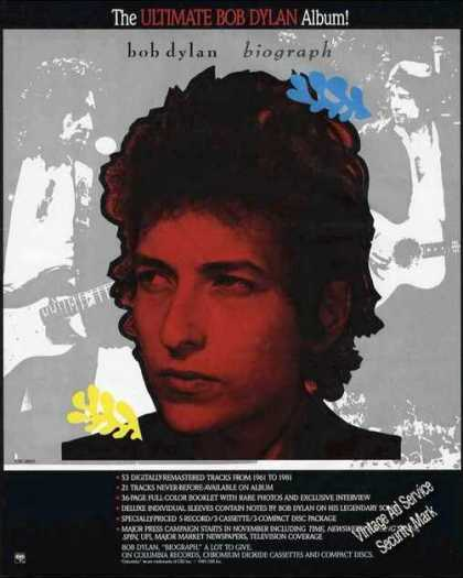 Bob Dylan Photo Album Promo (1985)