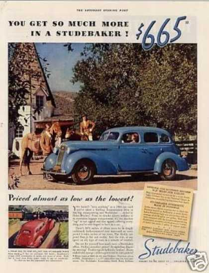 Studebaker Car Color (1936)