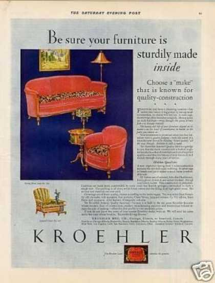 Kroehler Furniture Color (1928)