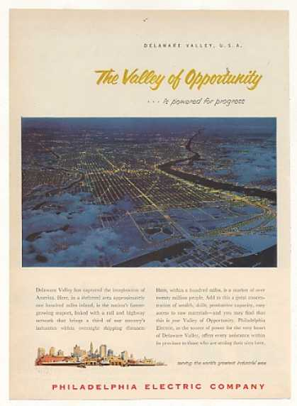 Delaware Valley Powered Philadelphia Electric (1953)