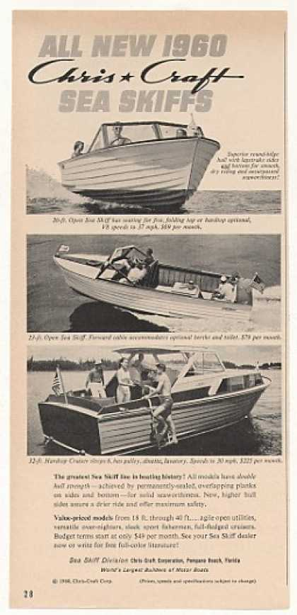 Chris-Craft Sea Skiffs 20 23 Open 32-ft Hardtop (1960)