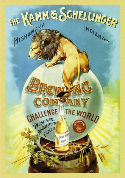 The Kamm and Schellinger Brewing Company: Challenge the World