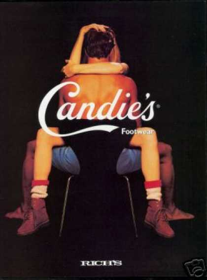 Candie's Footwear Boots Shoe Photo Rich's (1993)