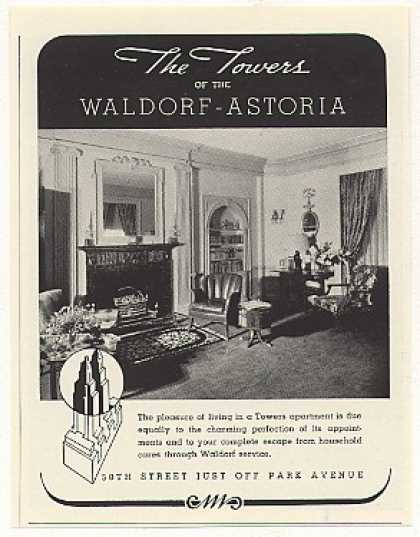 The Towers Waldorf-Astoria Apartment (1937)