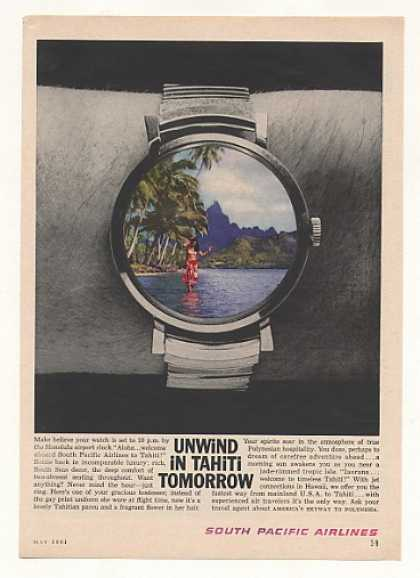 South Pacific Airlines Unwind in Tahiti Watch (1961)