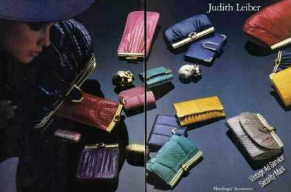 Judith Leiber Handbags/access (1985)