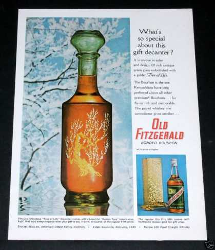 Old Fitzgerald Bourbon Xmas (1964)