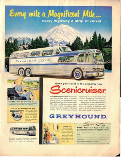 Greyhound Bus Scenicruiser (1954)