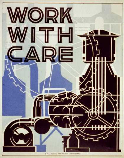 Work with care. (1936)