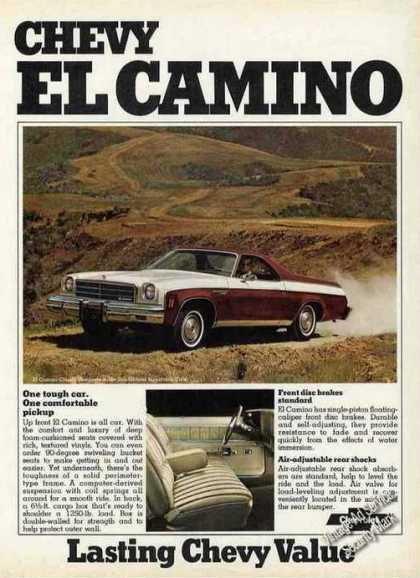 Chevrolet El Camino Car/pickup Collectible (1974)