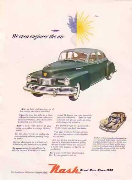 Nash Motors – Engineer Air (1948)