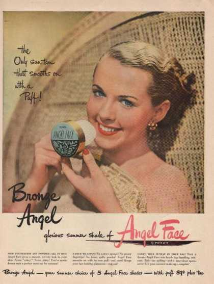 Angel Face Summer Shade Ponds Makeup (1949)