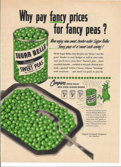 Sugar Belle Sweet Peas (1951)
