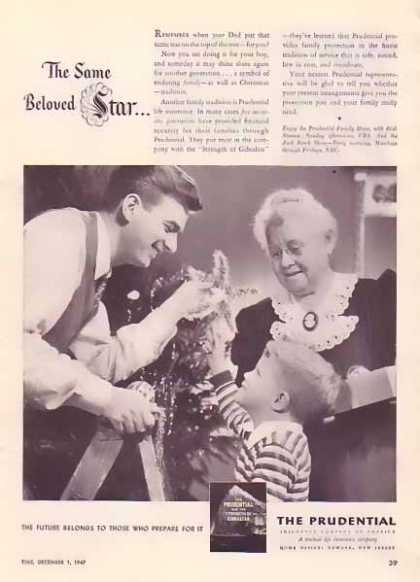 Prudential Insurance Christmas (1947)