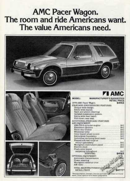 Amc Pacer Wagon Photos Car (1978)
