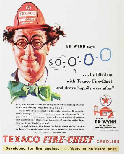 Texaco Fire-Chief Gasoline