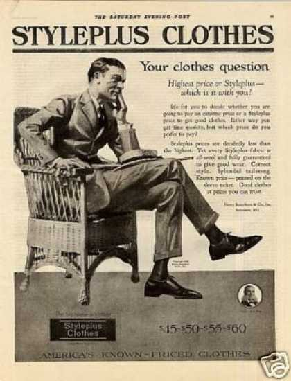 Styleplus Clothes (1920)
