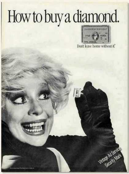 Carol Channing Photo American Express (1985)