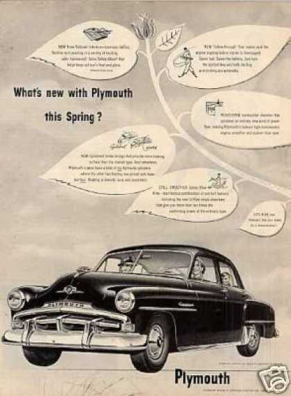 Plymouth Car (1952)