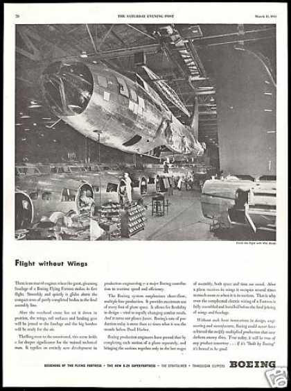 Boeing WWII Flying Fortress Airplane Assembly (1944)